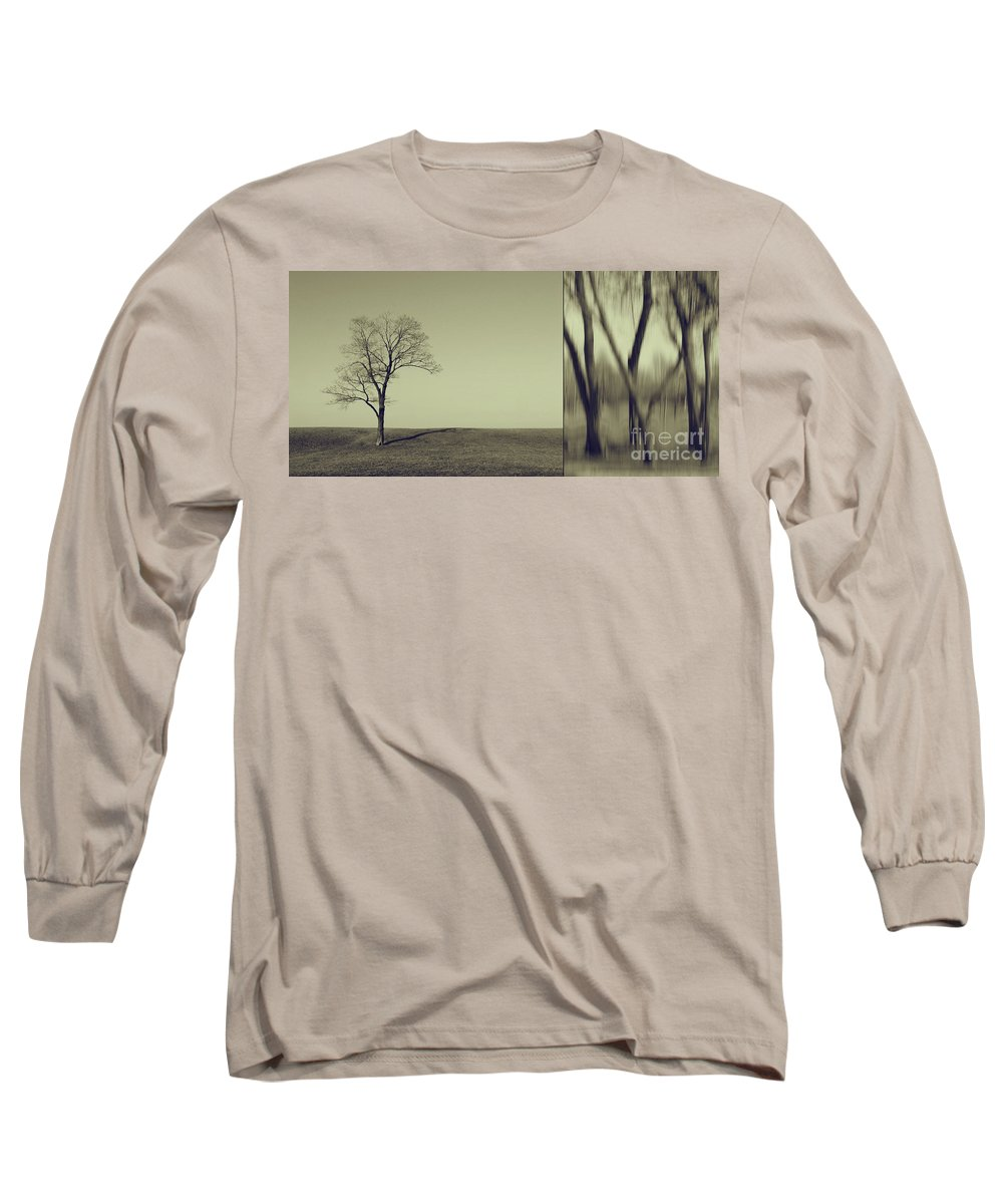 Chicago Long Sleeve T-Shirt featuring the photograph Can You Hear My Silent Words Whispering Along The Wind by Dana DiPasquale
