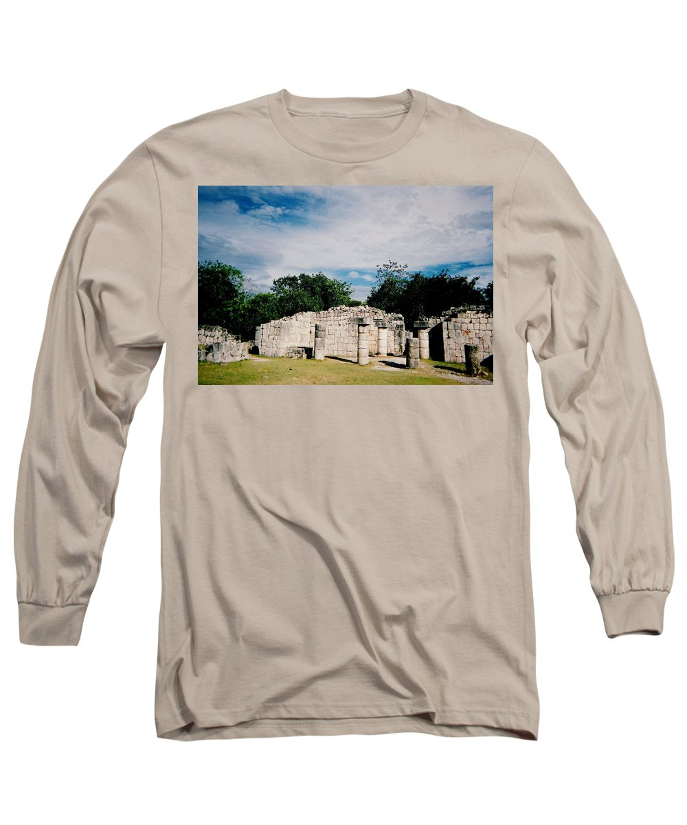 Chitchen Itza Long Sleeve T-Shirt featuring the photograph Chichen Itza 2 by Anita Burgermeister