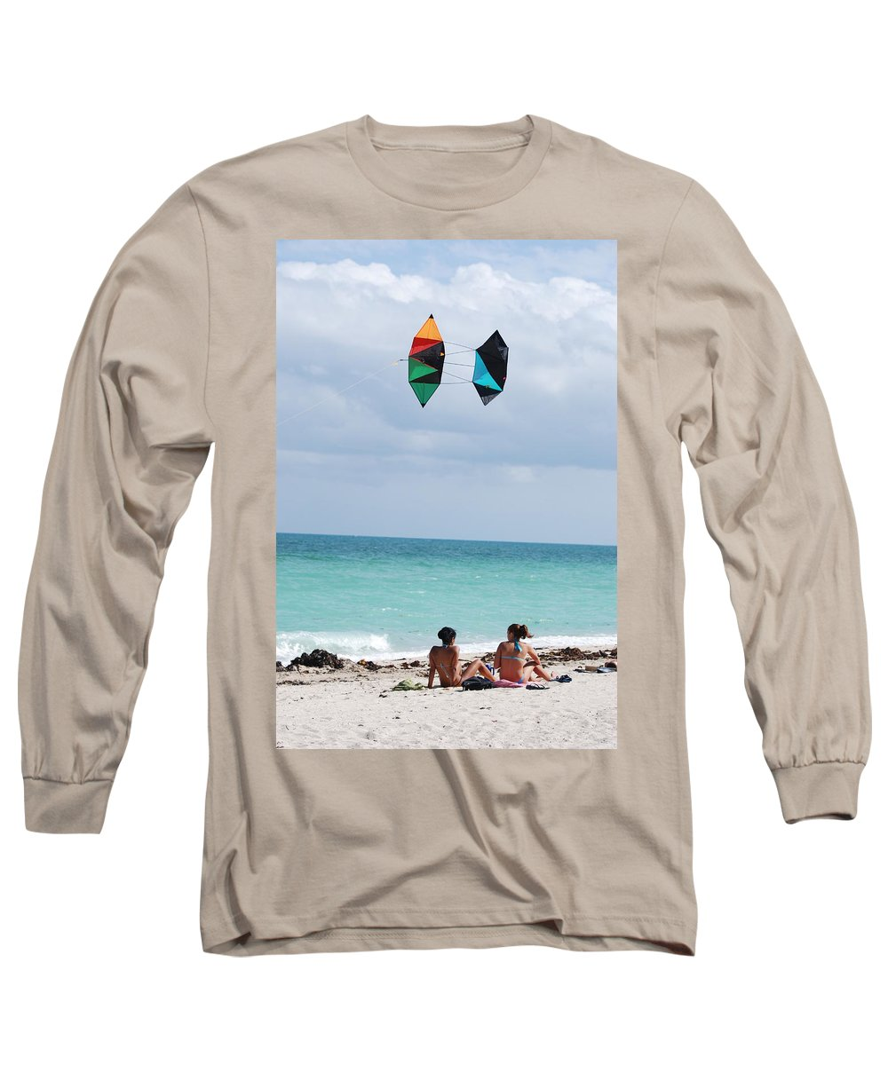 Sea Scape Long Sleeve T-Shirt featuring the photograph Close Encounters by Rob Hans