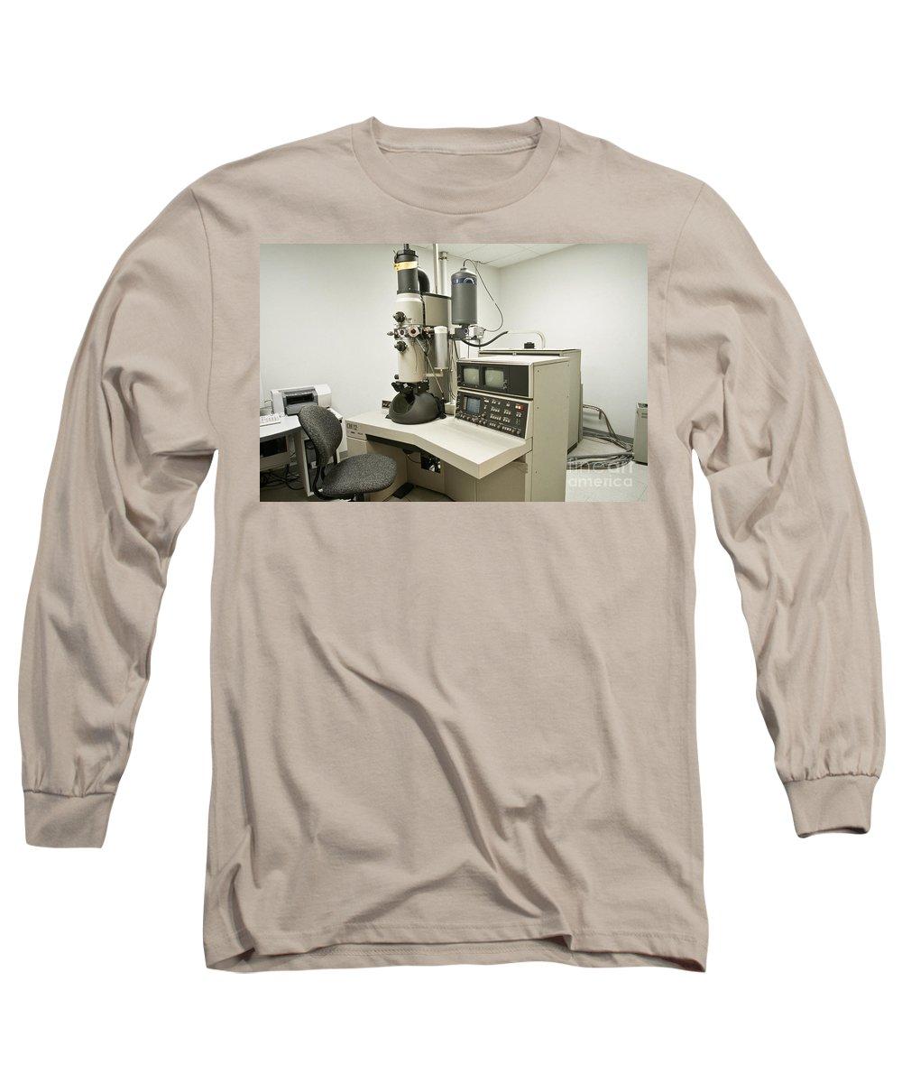Transmission Electron Microscope Photographs Long Sleeve T-Shirts
