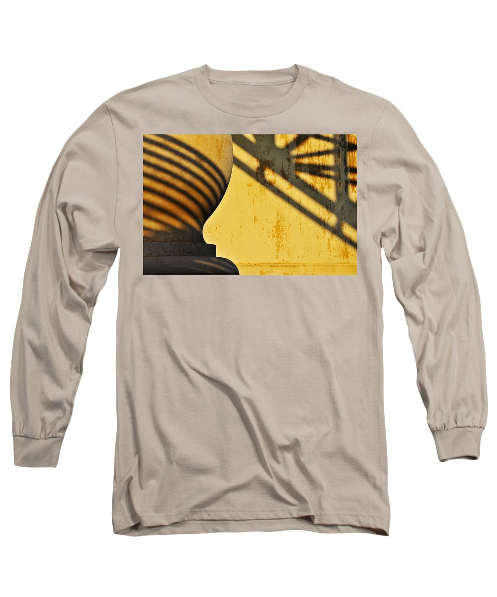 Architecture Long Sleeve T-Shirt featuring the photograph Comb Over by Skip Hunt