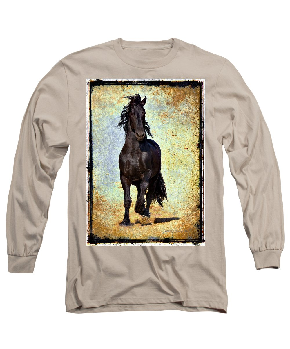 Long Sleeve T-Shirt featuring the photograph Conqueror by Jean Hildebrant
