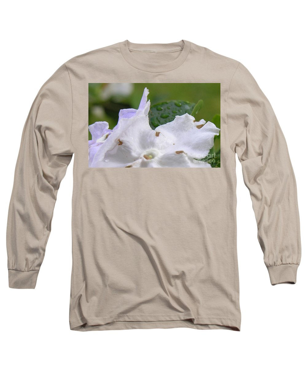 Flower Long Sleeve T-Shirt featuring the photograph Easter Surprise by Richard Rizzo