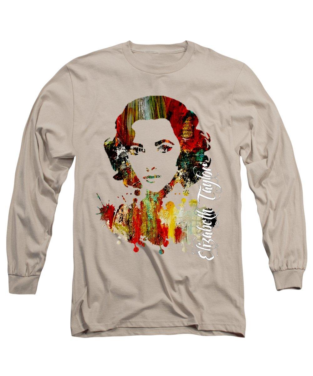 Elizabeth Taylor Long Sleeve T-Shirts