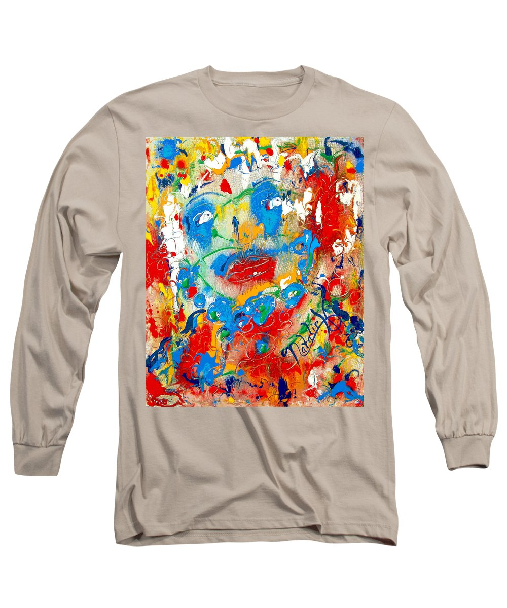 Woman Long Sleeve T-Shirt featuring the painting Fantasia by Natalie Holland