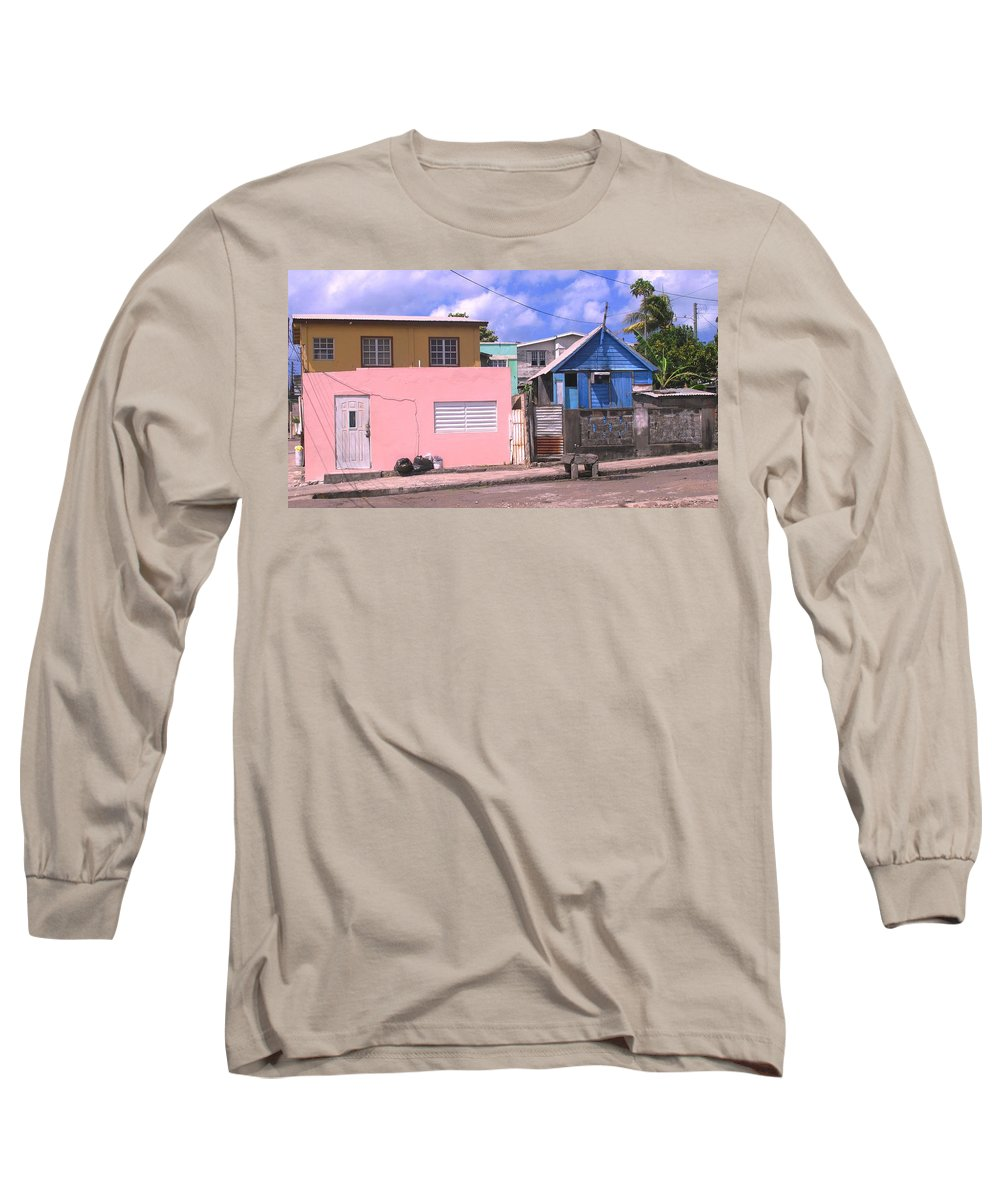 Basseterre Long Sleeve T-Shirt featuring the photograph Far From Dull by Ian MacDonald