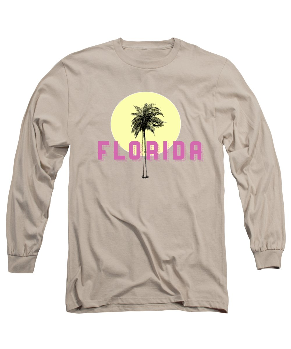 Palm Tree Long Sleeve T-Shirts