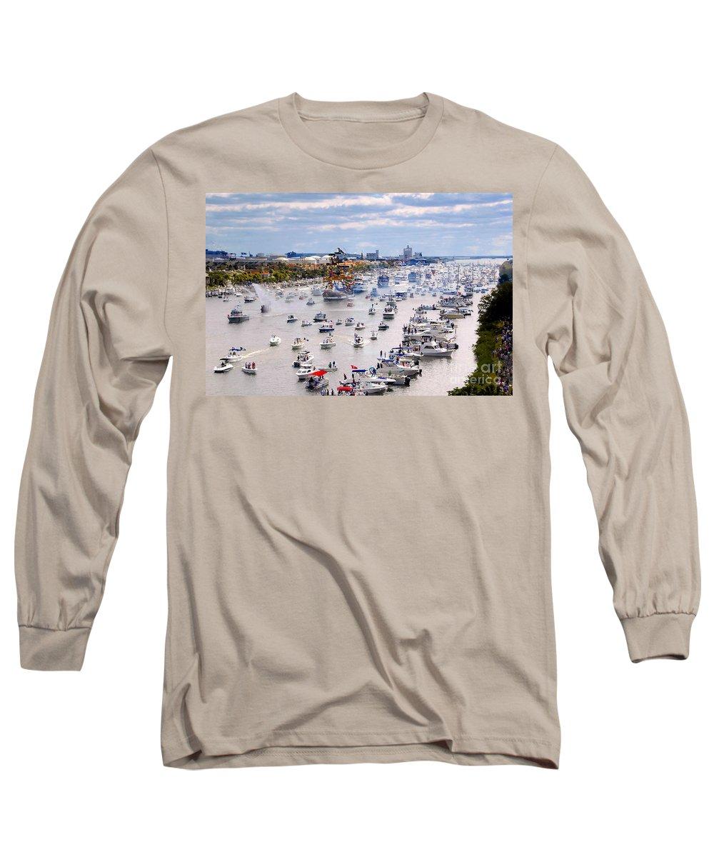 Jose Gasparilla Long Sleeve T-Shirt featuring the photograph Gaspar by David Lee Thompson