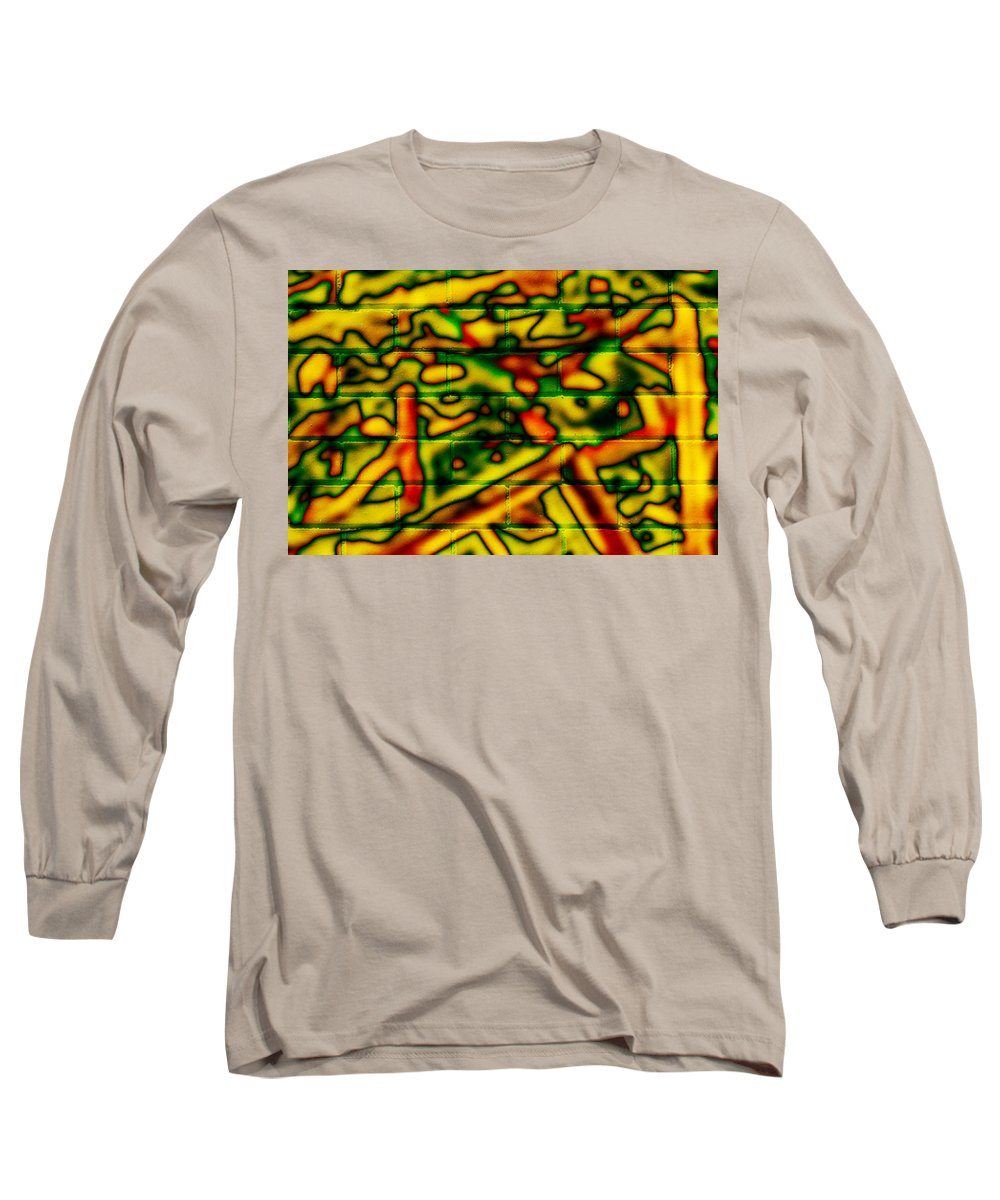 Digital Long Sleeve T-Shirt featuring the photograph Grunge Graffiti by Phill Petrovic