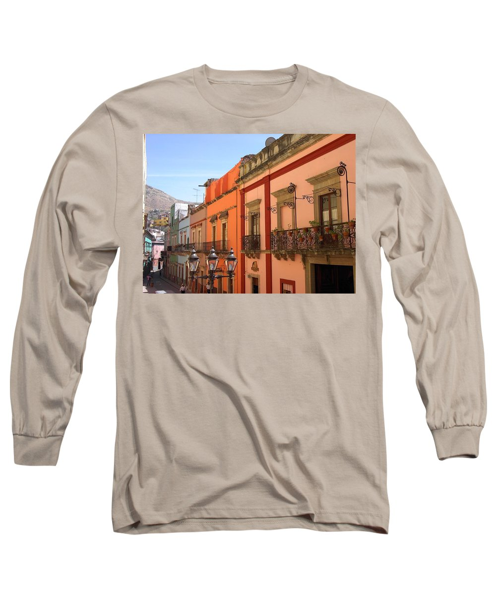 Charity Long Sleeve T-Shirt featuring the photograph Guanajuato by Mary-Lee Sanders