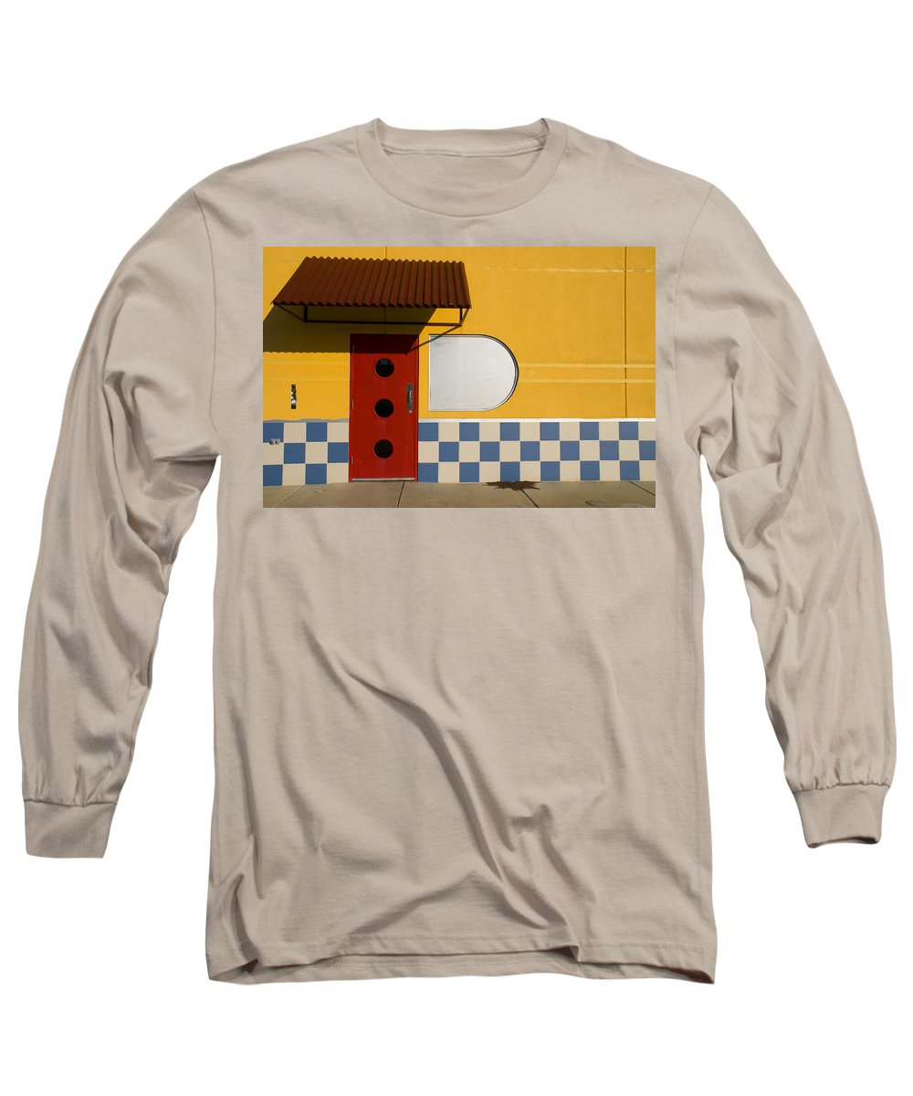 Architecture Long Sleeve T-Shirt featuring the photograph Happy Days by Skip Hunt