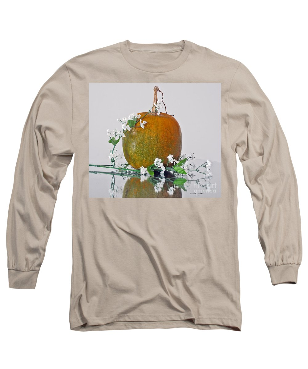 Photography Long Sleeve T-Shirt featuring the photograph Harvest by Shelley Jones