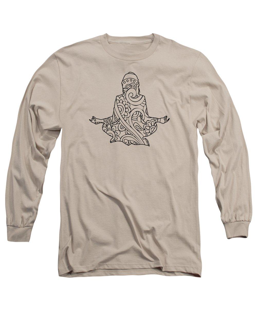 Meditate Long Sleeve T-Shirts