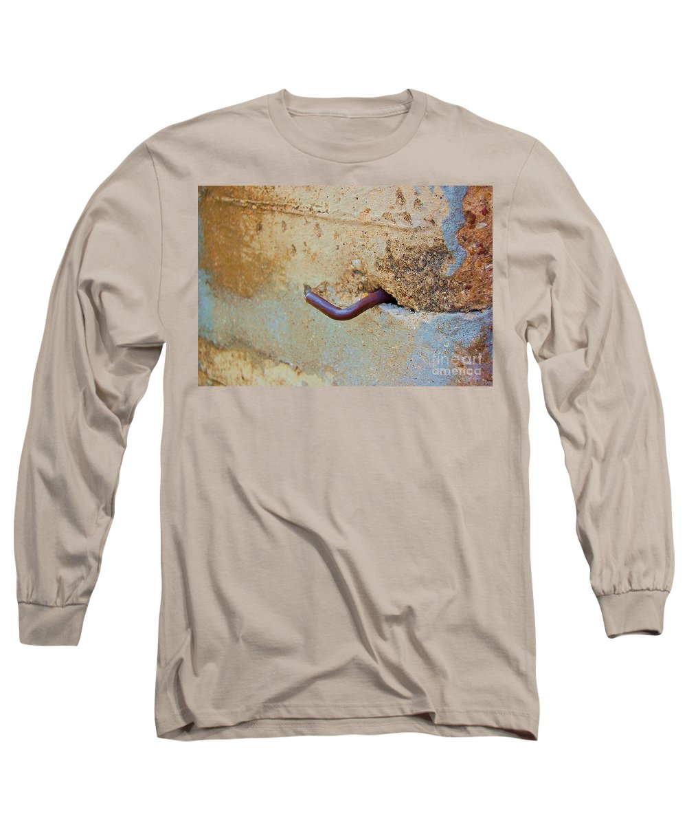 Metal Long Sleeve T-Shirt featuring the photograph Hook by Debbi Granruth