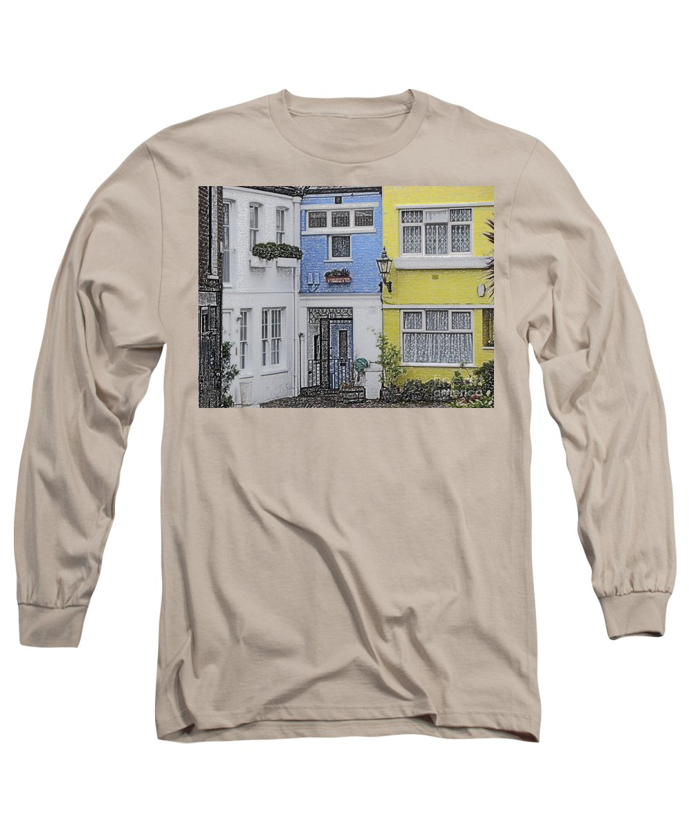 House Long Sleeve T-Shirt featuring the photograph Houses by Amanda Barcon
