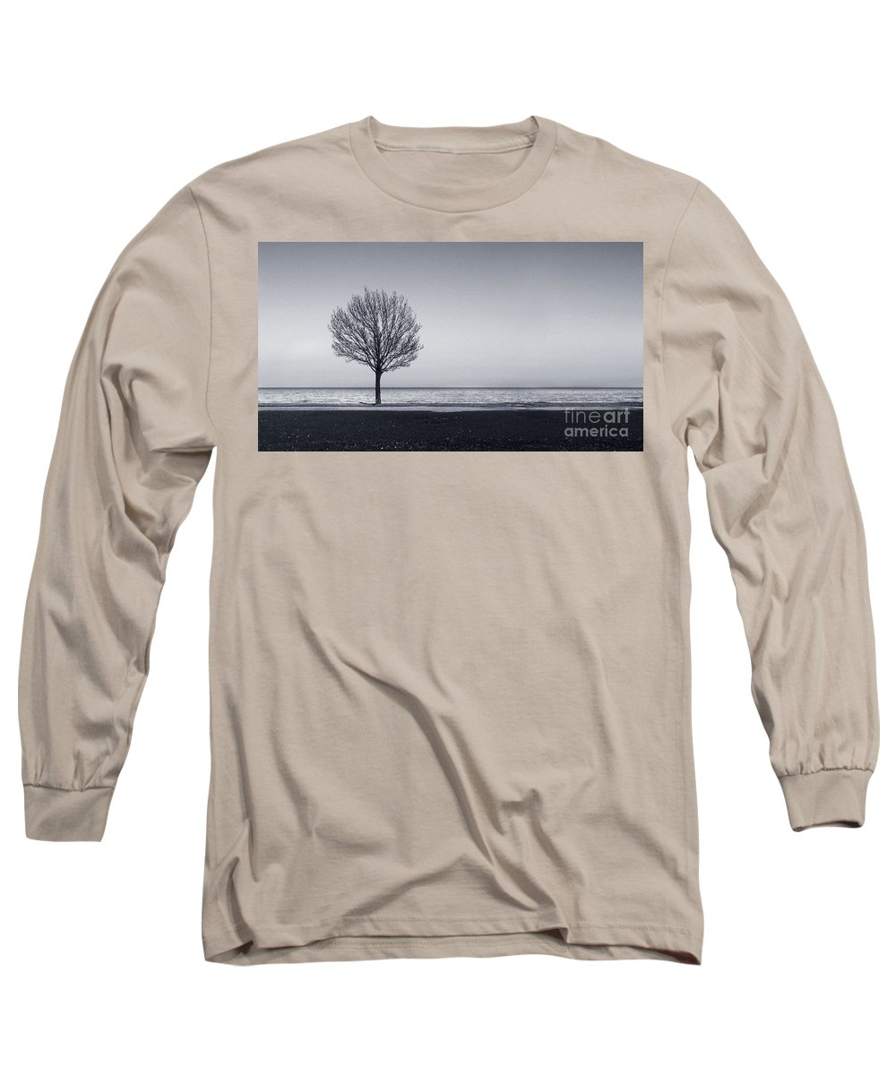 Tree Long Sleeve T-Shirt featuring the photograph I Didnt Hear You Leaving by Dana DiPasquale