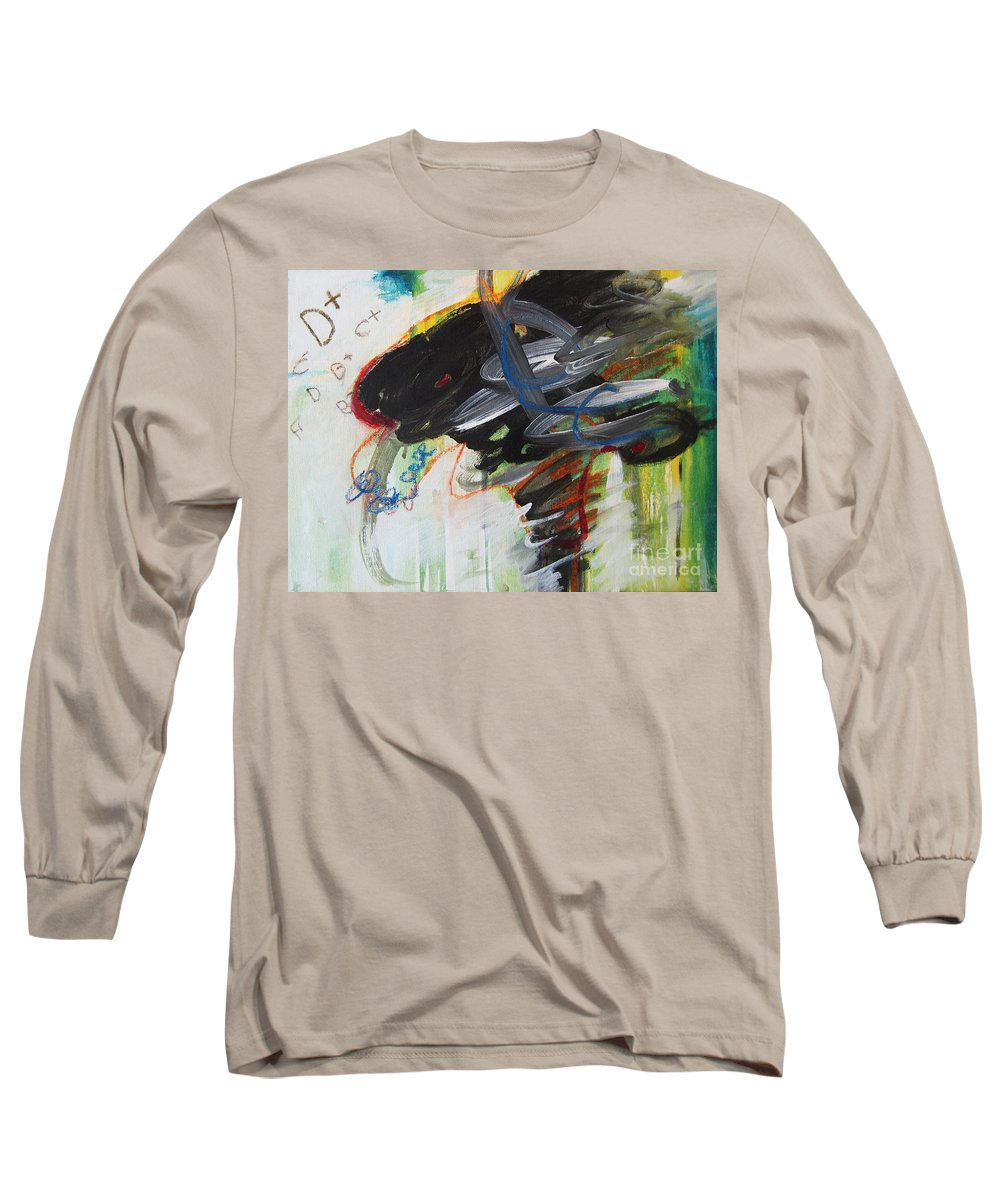 Abstract Paintings Paintings Abstract Art Paintings Long Sleeve T-Shirt featuring the painting I Got D by Seon-Jeong Kim