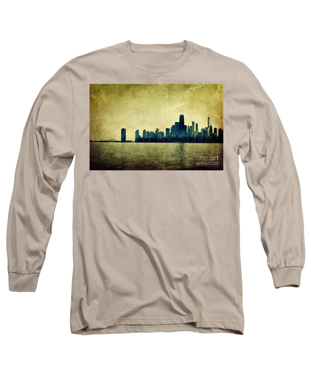 Dipasquale Long Sleeve T-Shirt featuring the photograph I Will Find You Down The Road Where We Met That Night by Dana DiPasquale