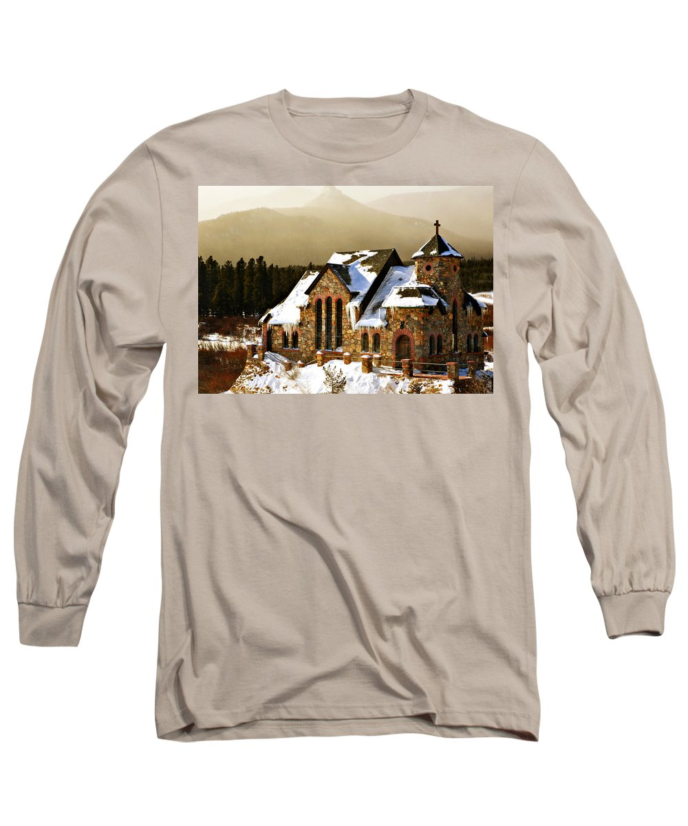 Americana Long Sleeve T-Shirt featuring the photograph Icicles by Marilyn Hunt