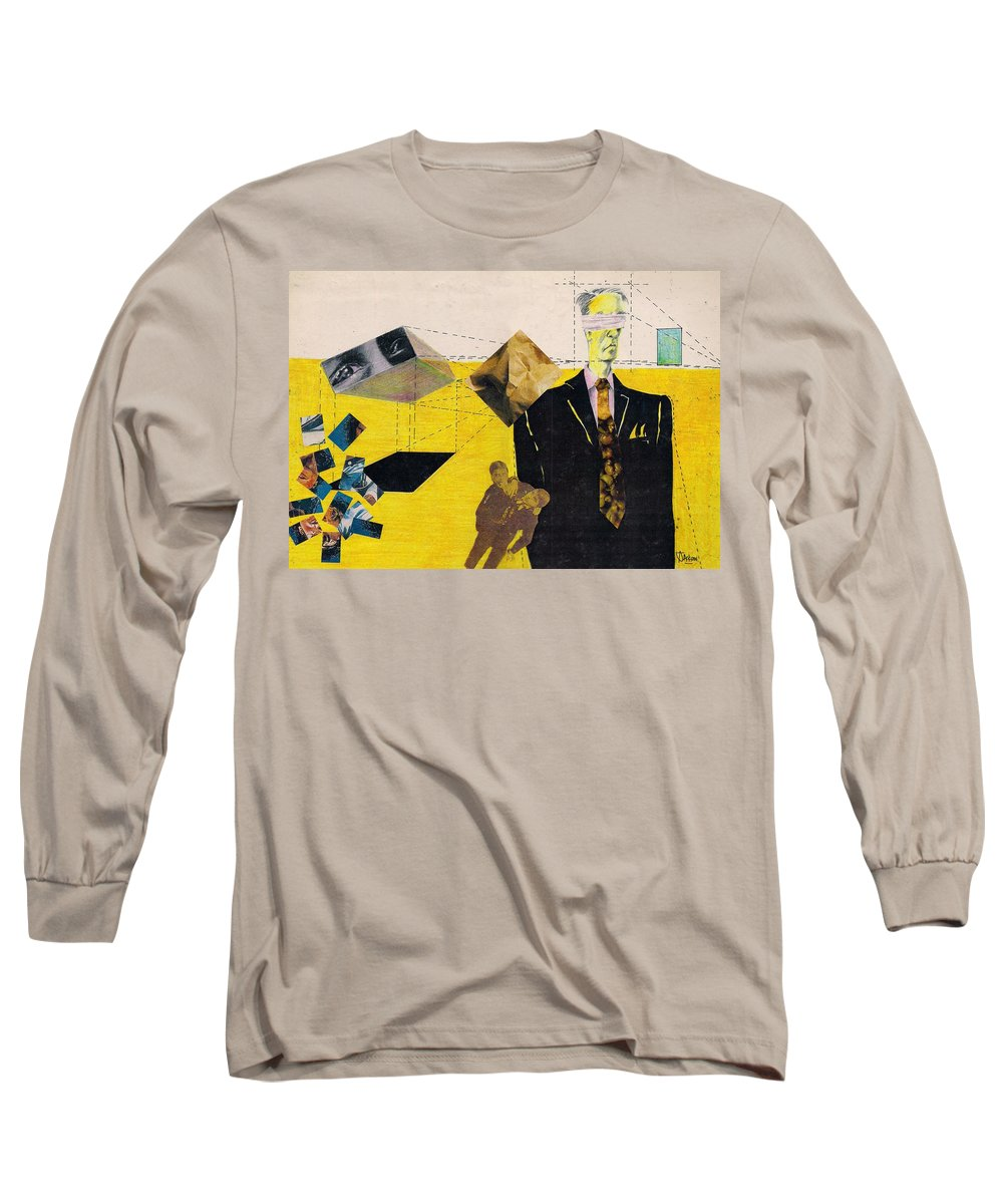Idol Icon Conflict Lies Vicious Long Sleeve T-Shirt featuring the mixed media Idolatry by Veronica Jackson