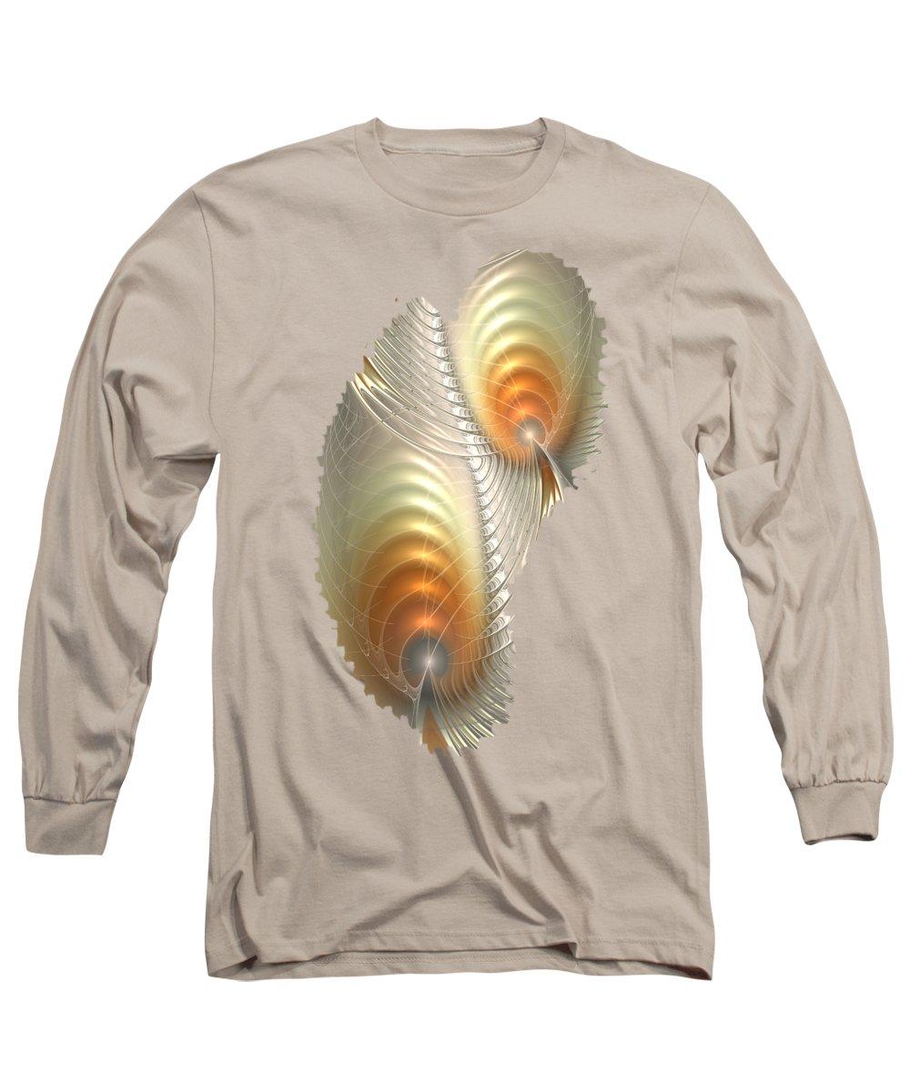 Influence Mixed Media Long Sleeve T-Shirts