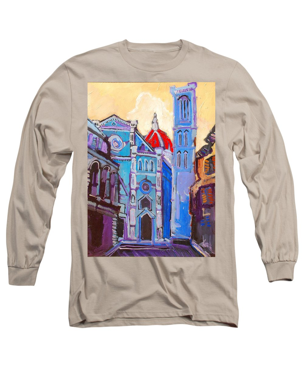 Florence Long Sleeve T-Shirt featuring the painting In The Middle Of by Kurt Hausmann