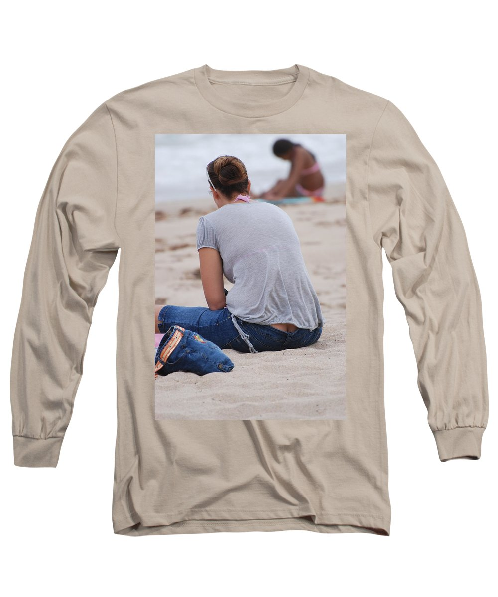 Girl Long Sleeve T-Shirt featuring the photograph Indiana Girl by Rob Hans