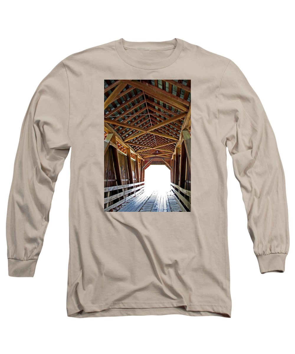 Light Long Sleeve T-Shirt featuring the photograph Into The Light by Margie Wildblood