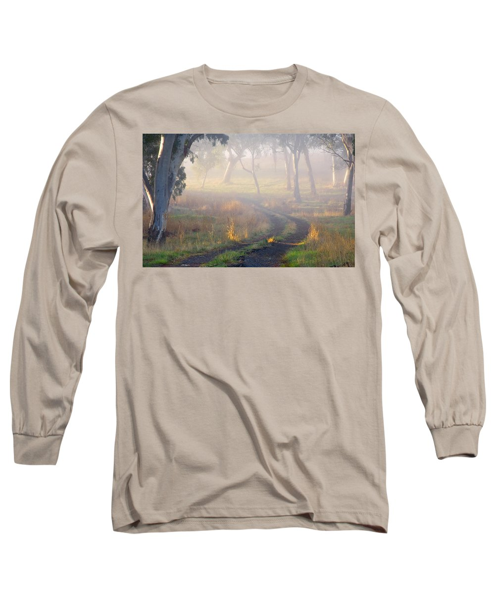 Mist Long Sleeve T-Shirt featuring the photograph Into The Mist by Mike Dawson