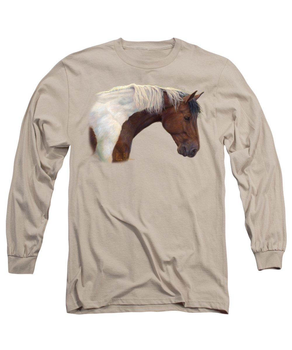 Brown Horse Long Sleeve T-Shirts