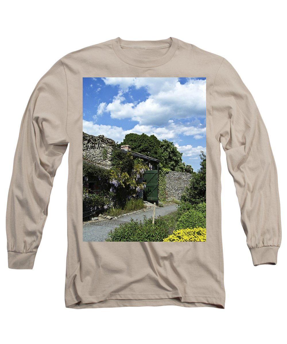 Irish Long Sleeve T-Shirt featuring the photograph Irish Garden County Clare by Teresa Mucha