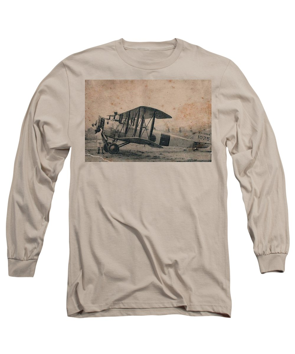 Antique Aircraft Long Sleeve T-Shirts