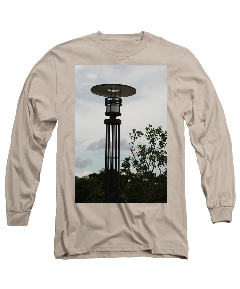 Street Lamp Long Sleeve T-Shirt featuring the photograph Japanese Street Lamp by Rob Hans