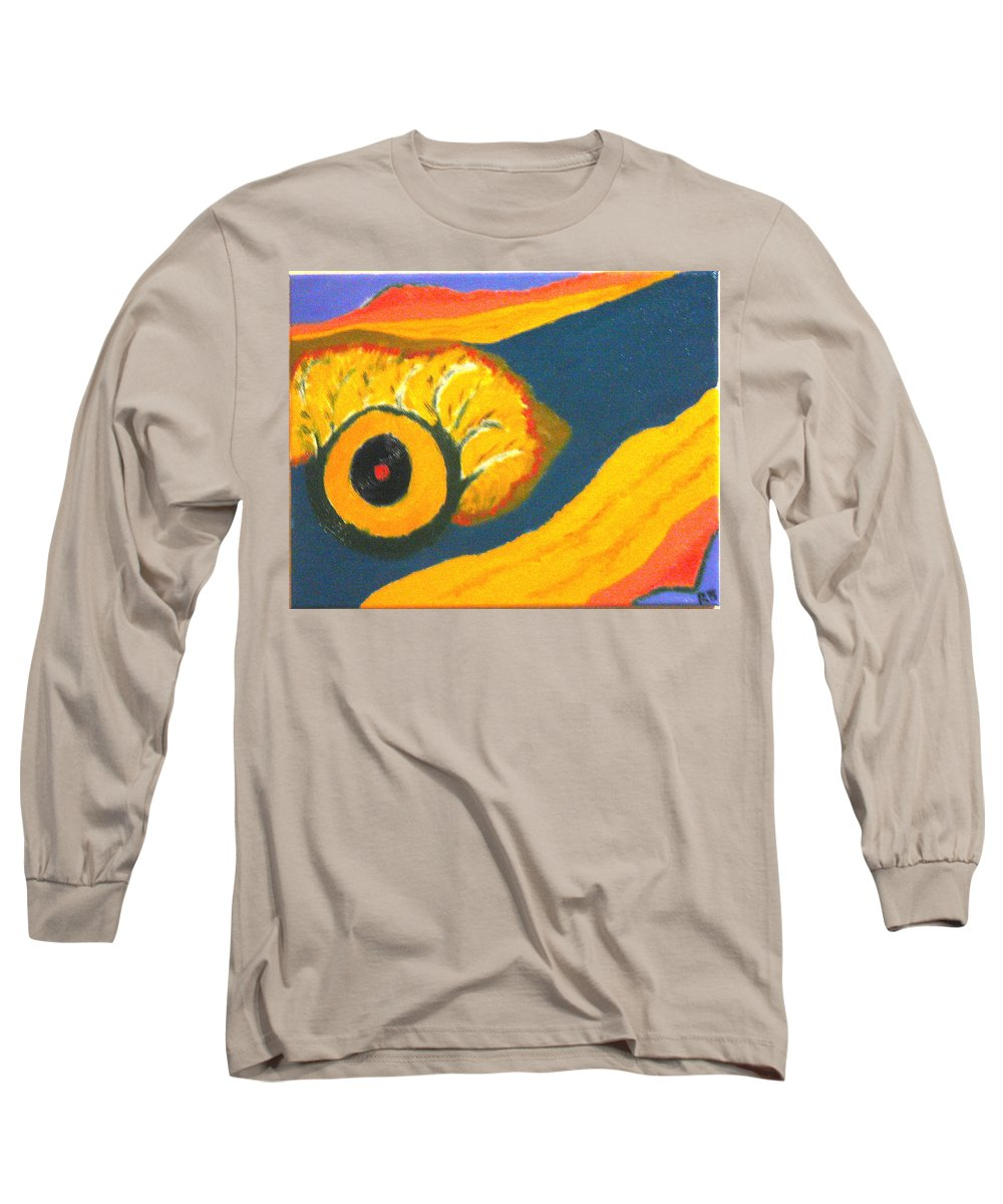 Long Sleeve T-Shirt featuring the painting Krshna by R B