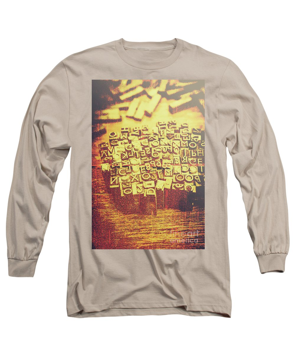 Written Language Photographs Long Sleeve T-Shirts