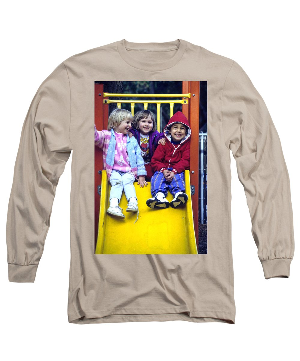 Girl Long Sleeve T-Shirt featuring the photograph Love Thy Neighbor by Laurie Paci