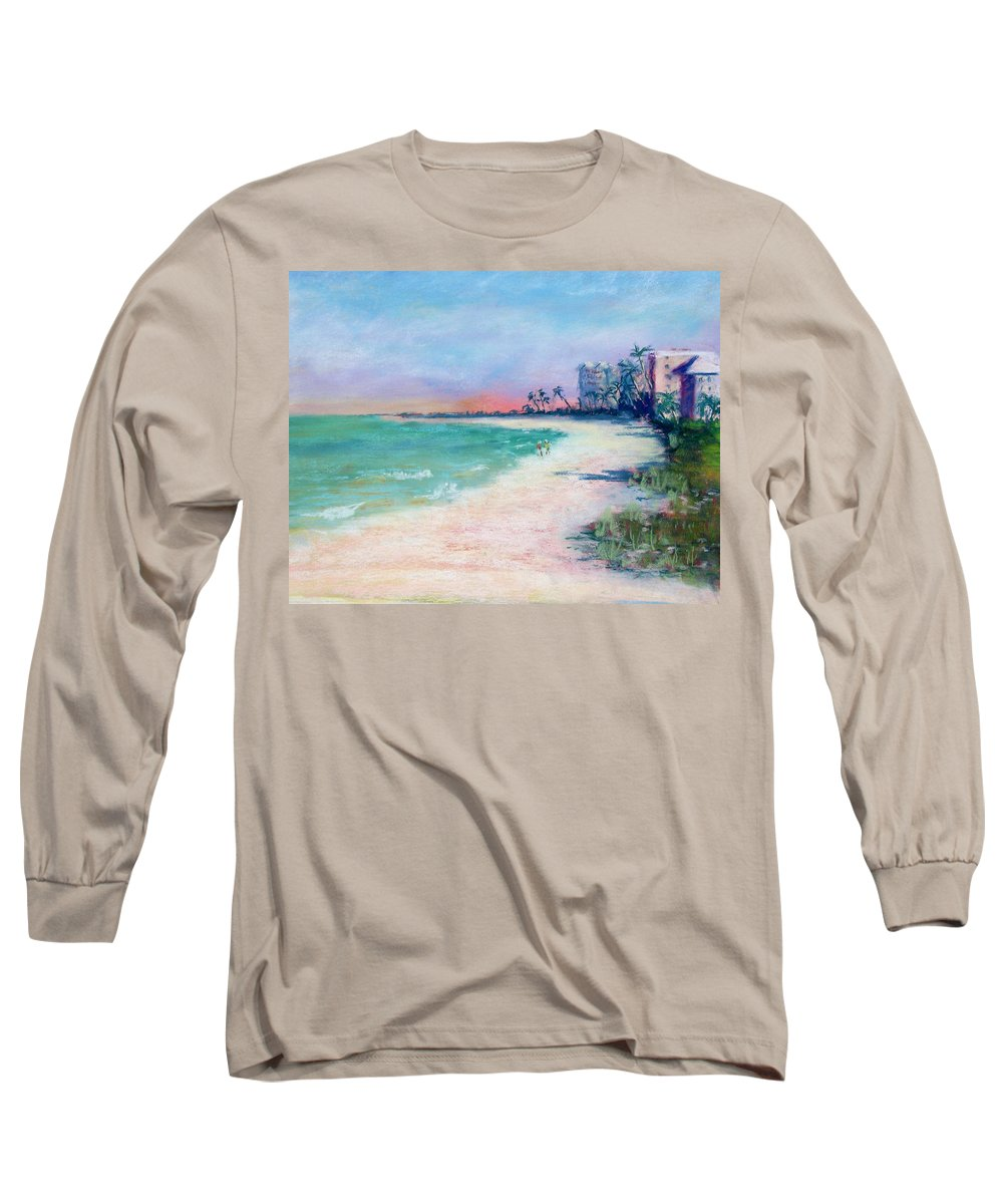 Lowdermilk Park Long Sleeve T-Shirt featuring the painting Lowdermilk Park North by Laurie Paci