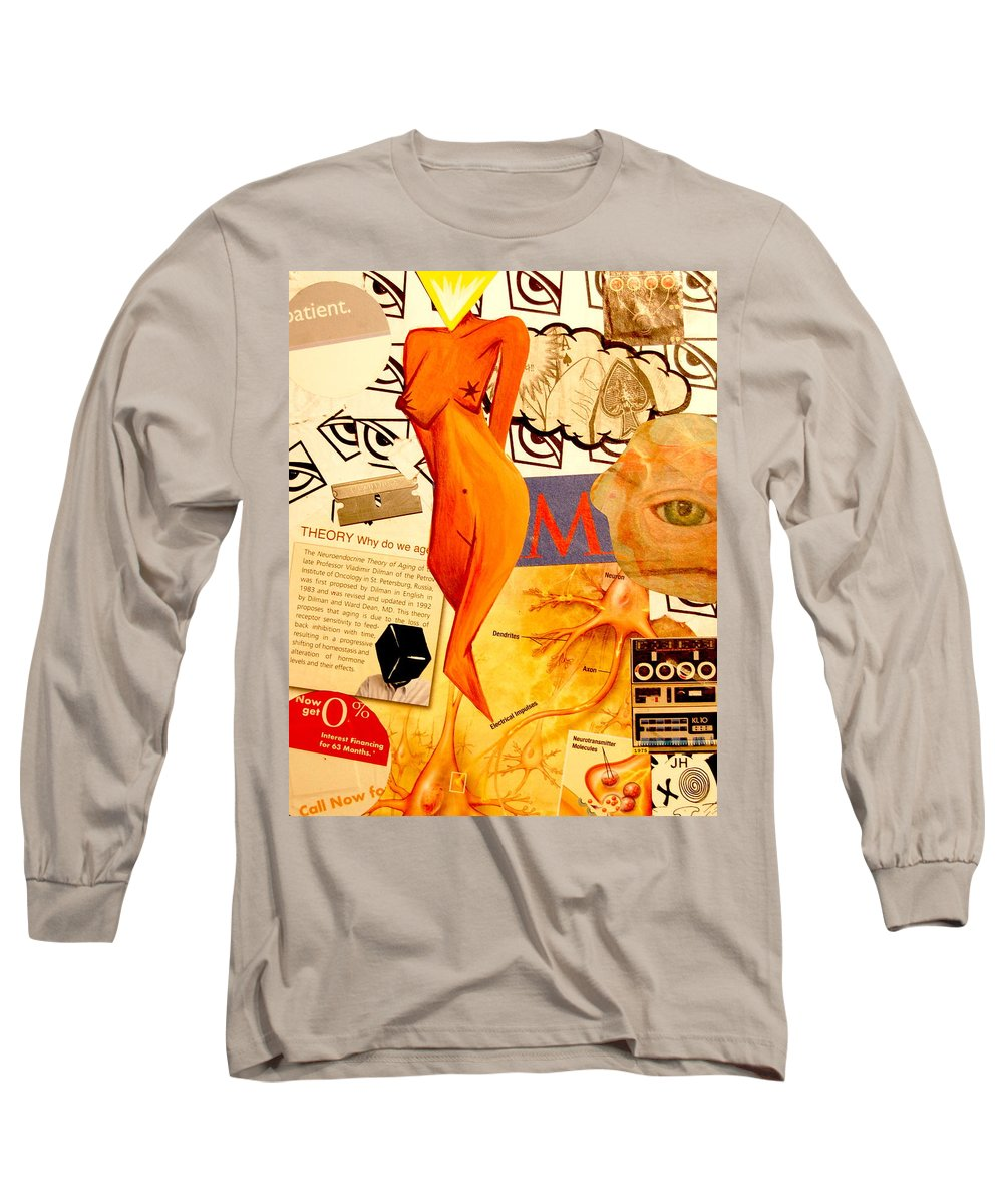 Luck Long Sleeve T-Shirt featuring the mixed media Luck Of The Draw by A 2 H D