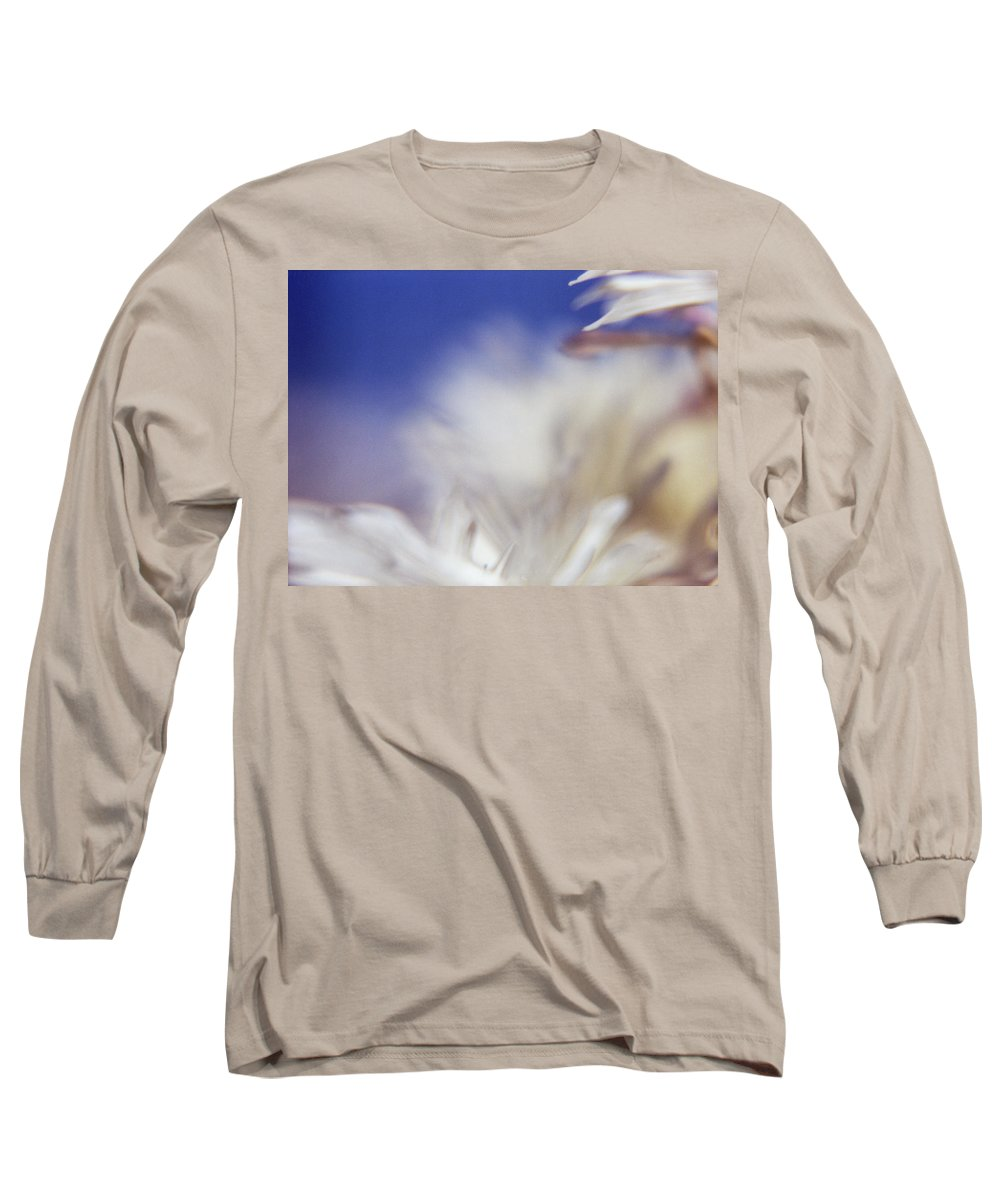 Flower Long Sleeve T-Shirt featuring the photograph Macro Flower 1 by Lee Santa