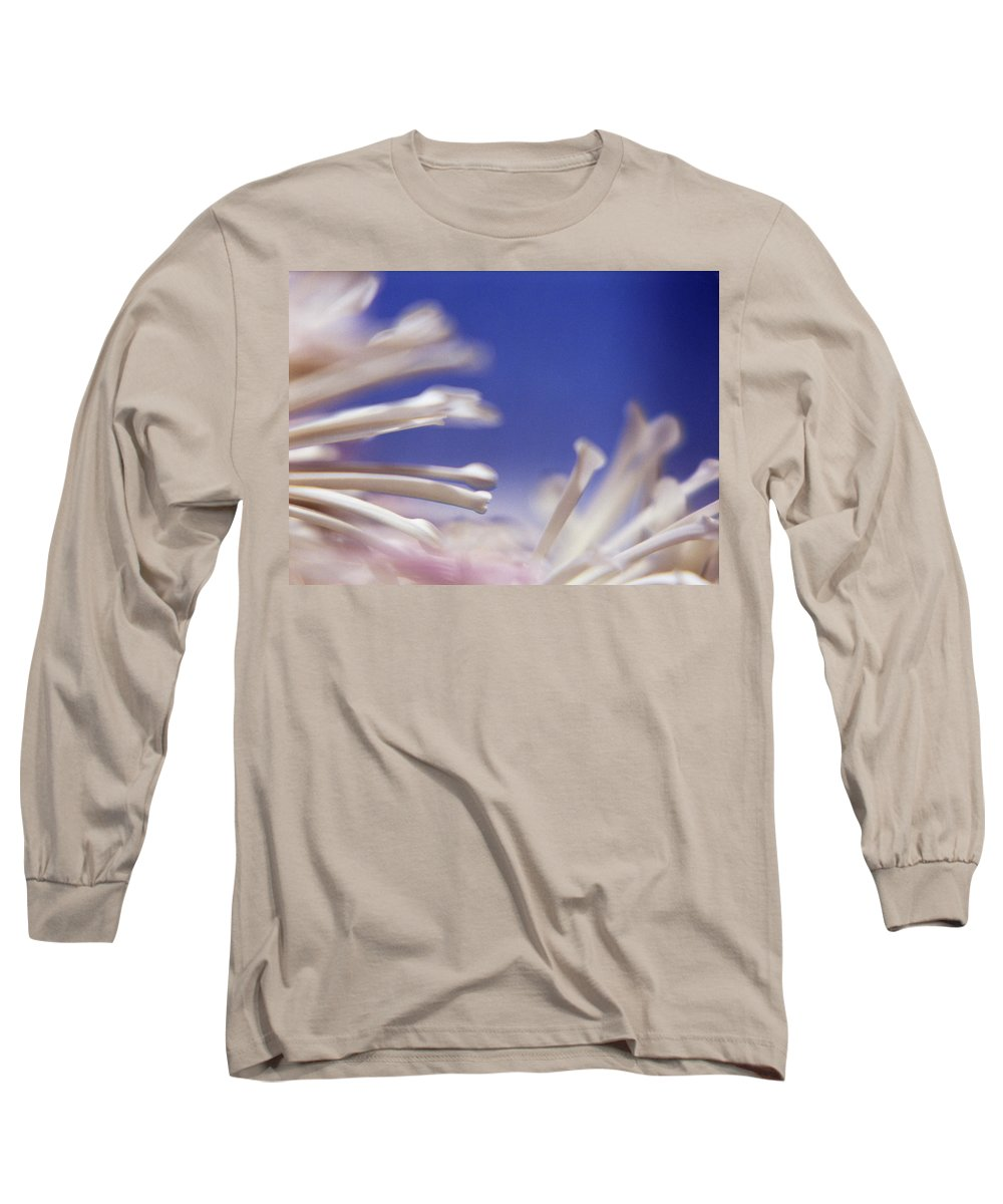 Macro Long Sleeve T-Shirt featuring the photograph Macro Flower 2 by Lee Santa