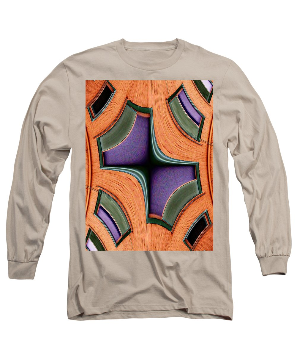 Windows Long Sleeve T-Shirt featuring the photograph Melded Windows by Tim Allen