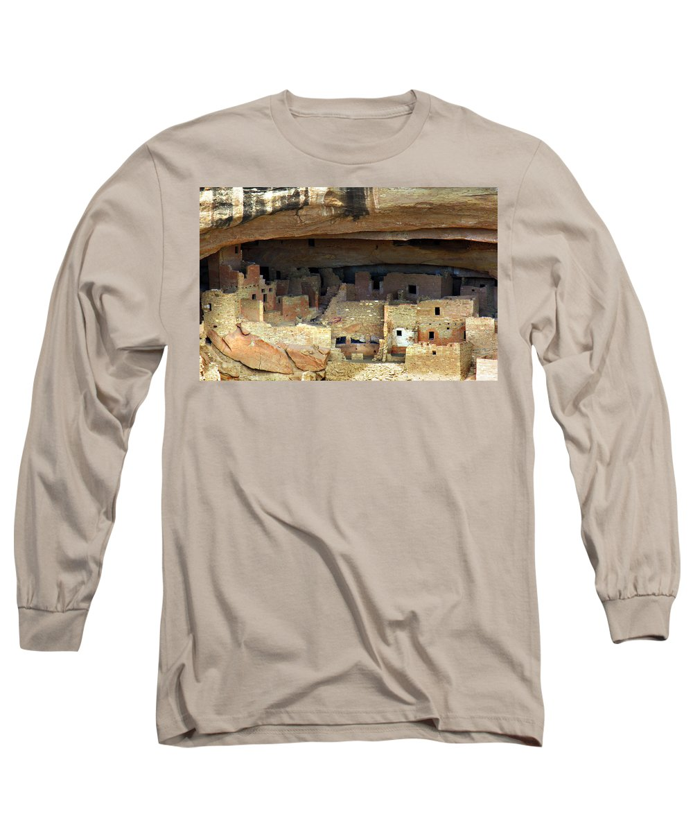 Americana Long Sleeve T-Shirt featuring the photograph Mesa Verde by Marilyn Hunt