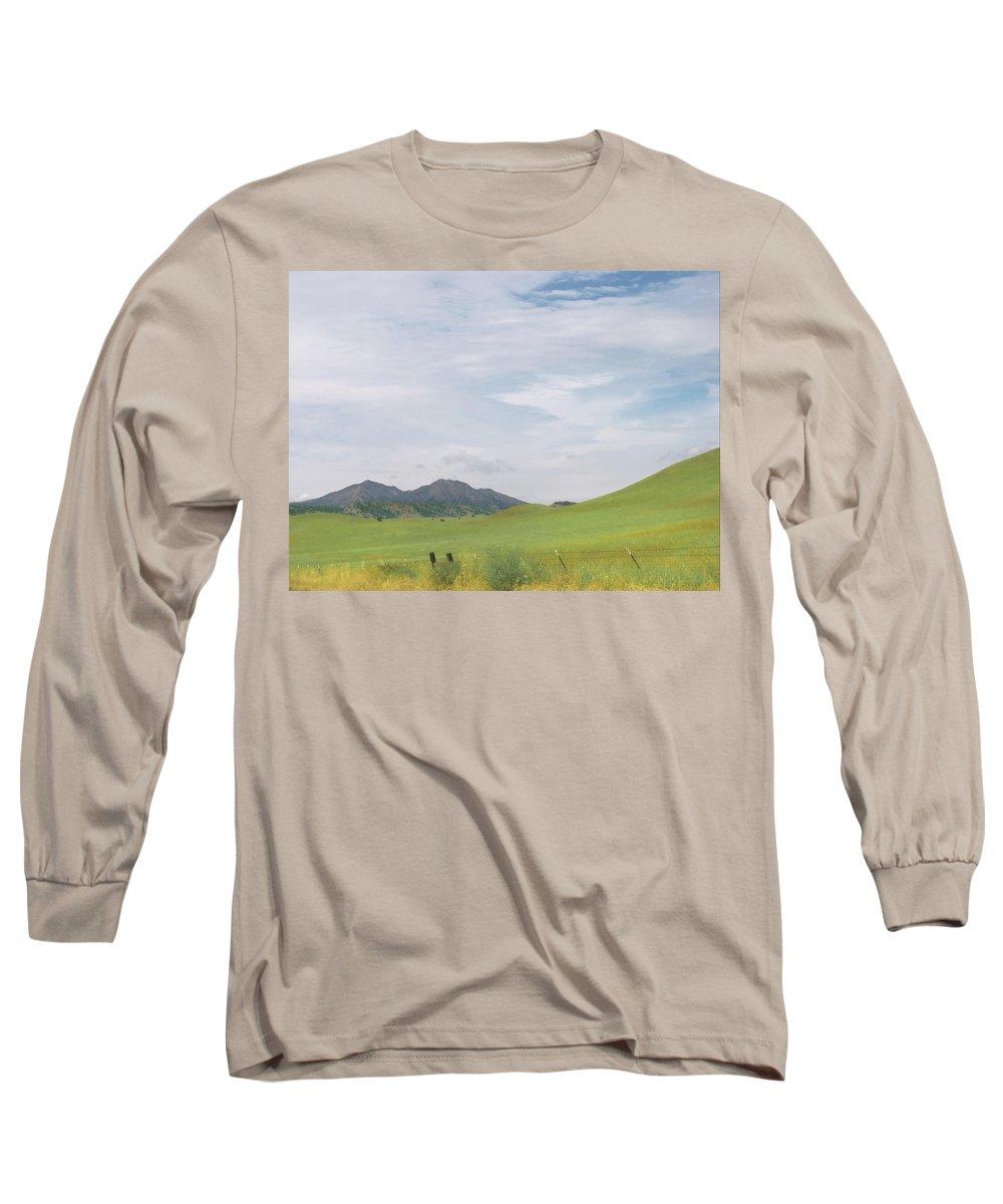 Landscape Long Sleeve T-Shirt featuring the photograph Mt. Diablo Mcr 1 by Karen W Meyer