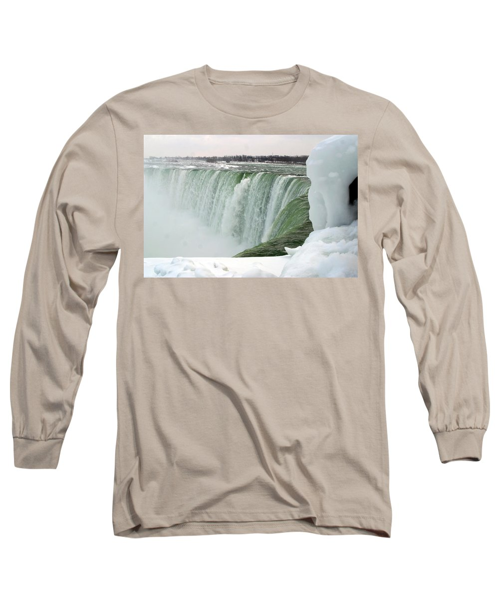 Niagara Falls Long Sleeve T-Shirt featuring the photograph Niagara Falls 2 by Anthony Jones
