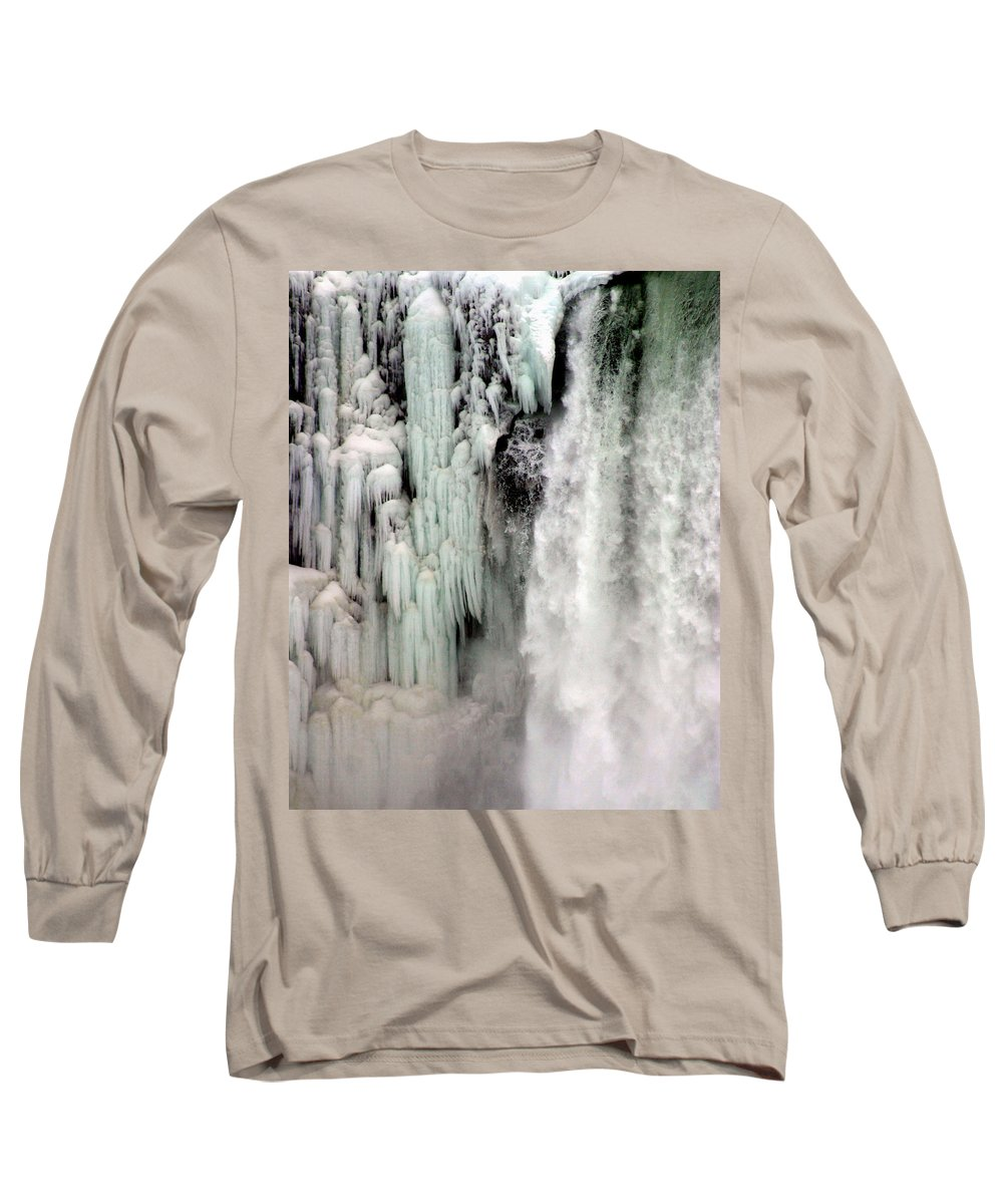 Landscape Long Sleeve T-Shirt featuring the photograph Niagara Falls 5 by Anthony Jones