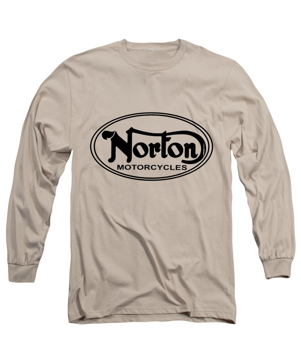 Norton Motorcycle Long Sleeve T-Shirt featuring the photograph Norton Motorcycles by Mark Rogan