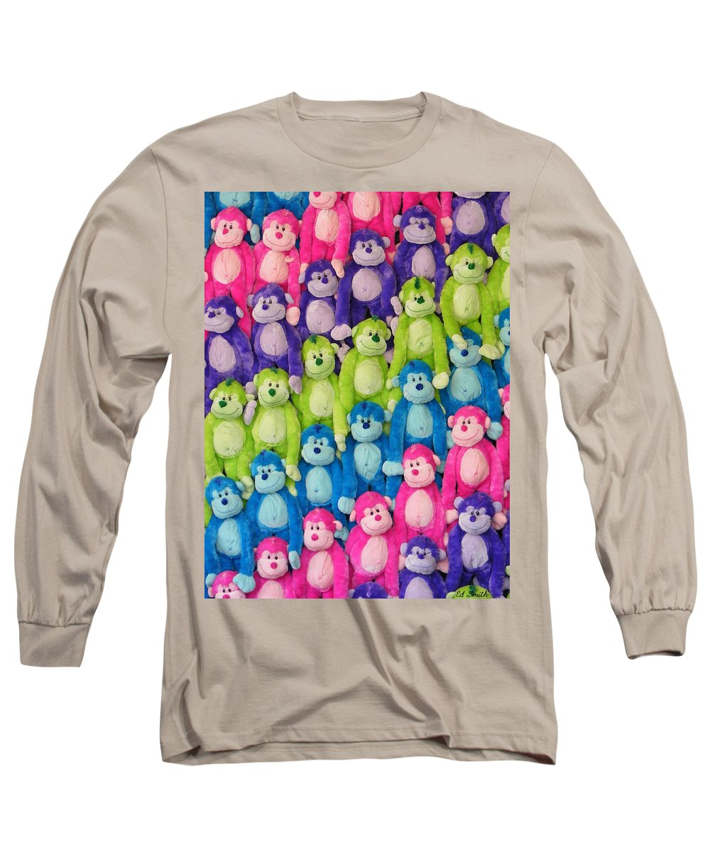 Ok Smiles Long Sleeve T-Shirt featuring the photograph Ok Smiles Everyone by Ed Smith