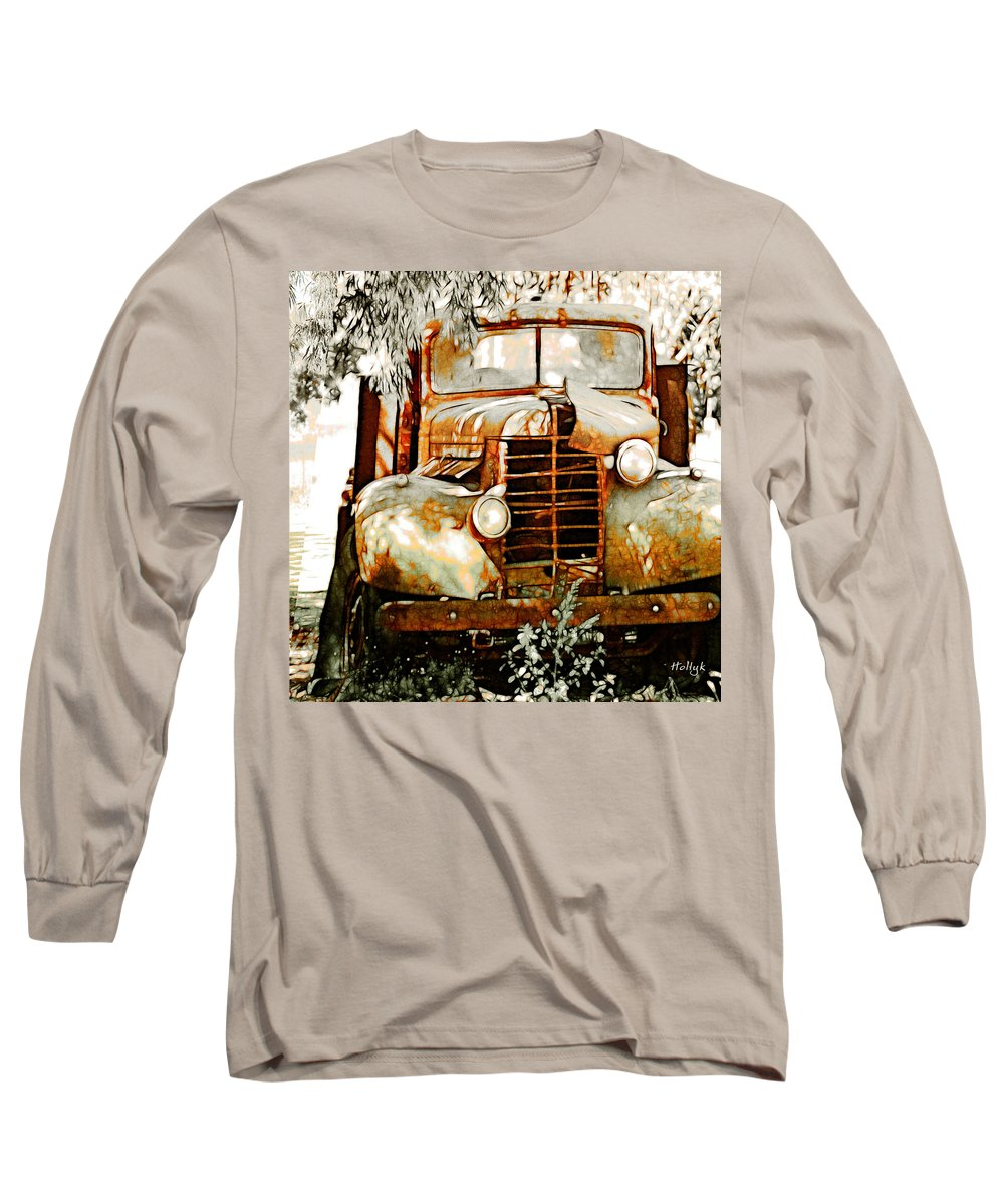 Transportation Long Sleeve T-Shirt featuring the photograph Old Memories Never Die by Holly Kempe