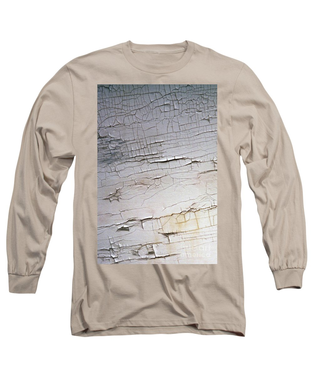 Paint Long Sleeve T-Shirt featuring the photograph Old Siding by Richard Rizzo