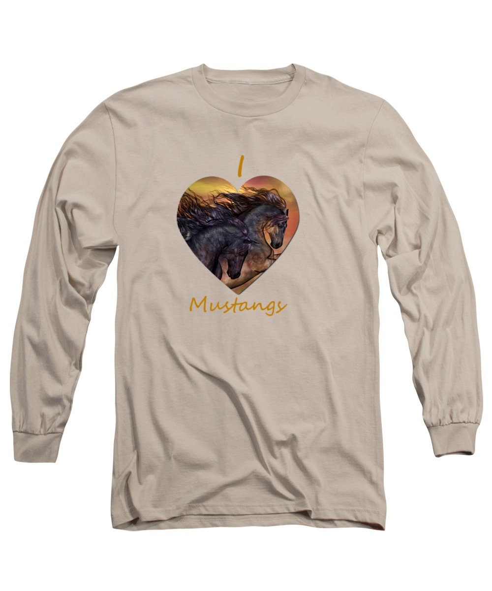 Prairie Sunset Long Sleeve T-Shirts